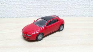 1/100 Kyosho ALFA ROMEO BRERA RED Mini Car Collection