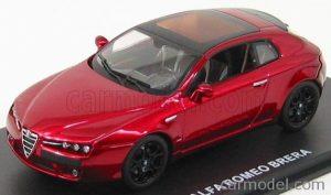1/43 M4 Alfa Romeo Brera 2005 Red Competition Met Black