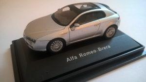 CARARAMA-HONGWELL 1:72 ALFA ROMEO BRERA silver