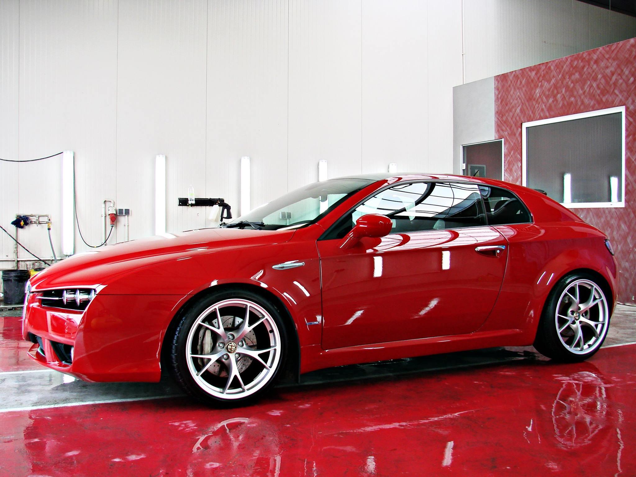 Efekty prac firm detailingowych nad modelem Alfa Romeo Brera