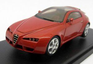ABC Modello 1/43 Scale Resin - ABC 167 Alfa Romeo Brera Ginevra 2002 Red