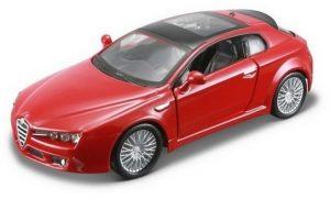 Bburago 18-43013 Alfa Romeo Brera 2005 1:32 - czerwony