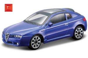 Bburago 30192 Alfa Romeo Brera 2005 1:43 - niebieski