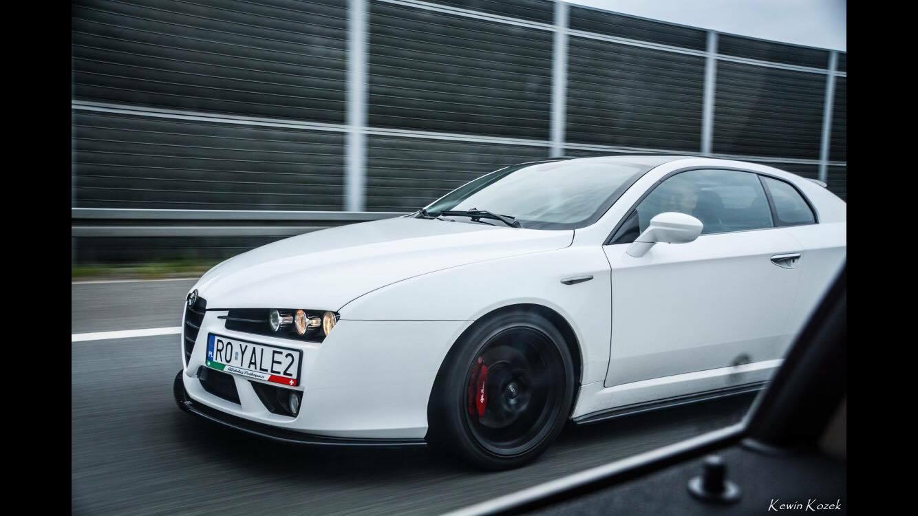 Alfa Romeo Brera Jtdm Biala Robert