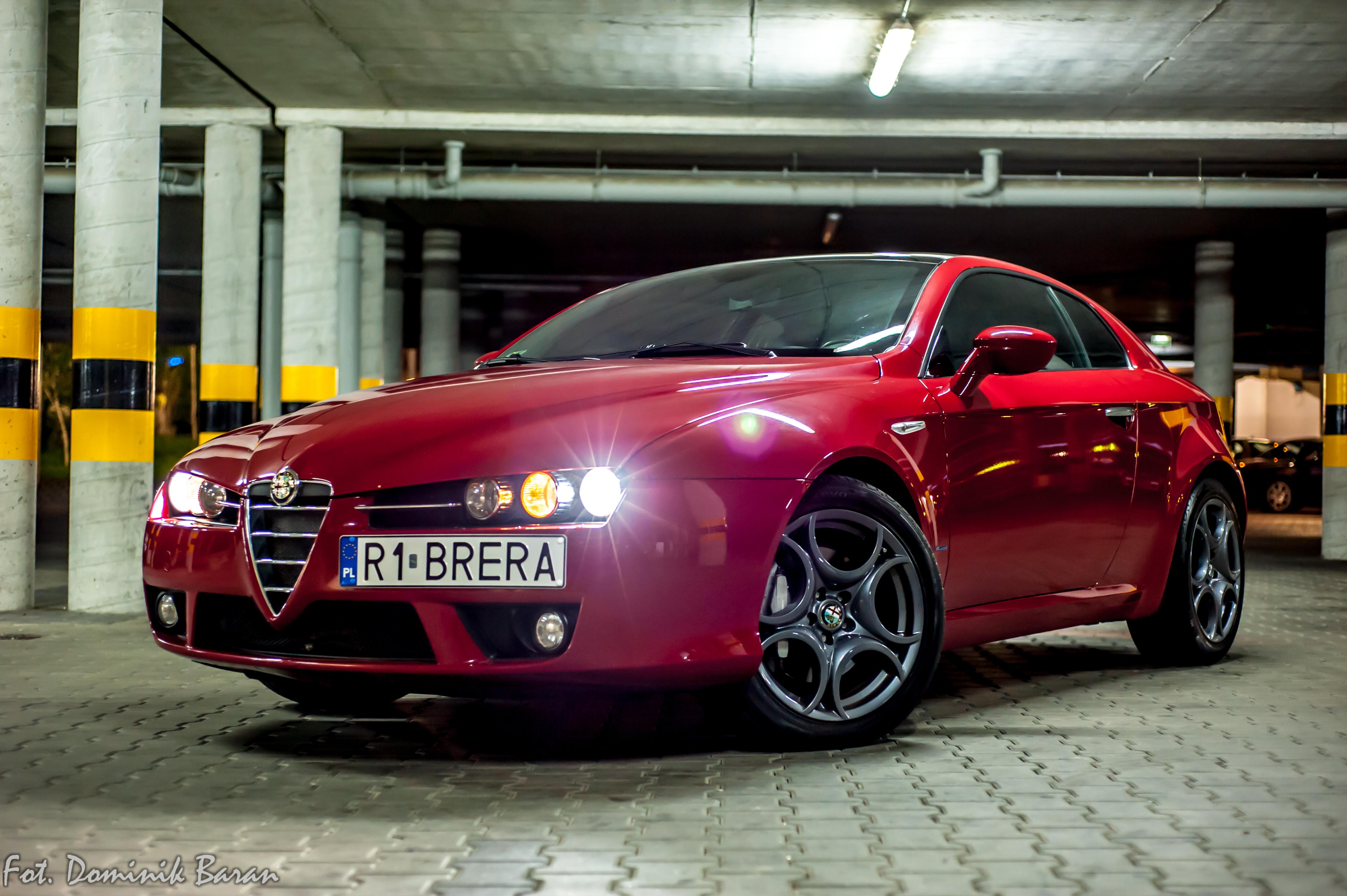 Alfa Romeo Brera Fot. Dominik Baran Fotografia