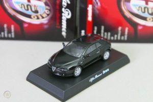 Kyosho 1/64 Alfa Romeo Brera Black Miniature Car Collection 2 Japan 2008