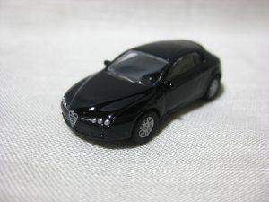 1/100 Kyosho ALFA ROMEO BRERA BLACK Mini Car Collection