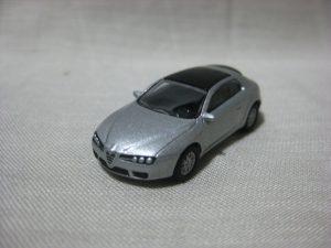 1/100 Kyosho ALFA ROMEO BRERA SILVER Mini Car Collection