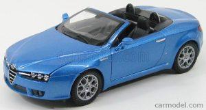 1/24 WELLY ALFA ROMEO SPIDER 2006 WE22484Open Blue Met
