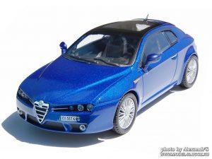 CARARAMA-HONGWELL 1:72 ALFA ROMEO BRERA blue