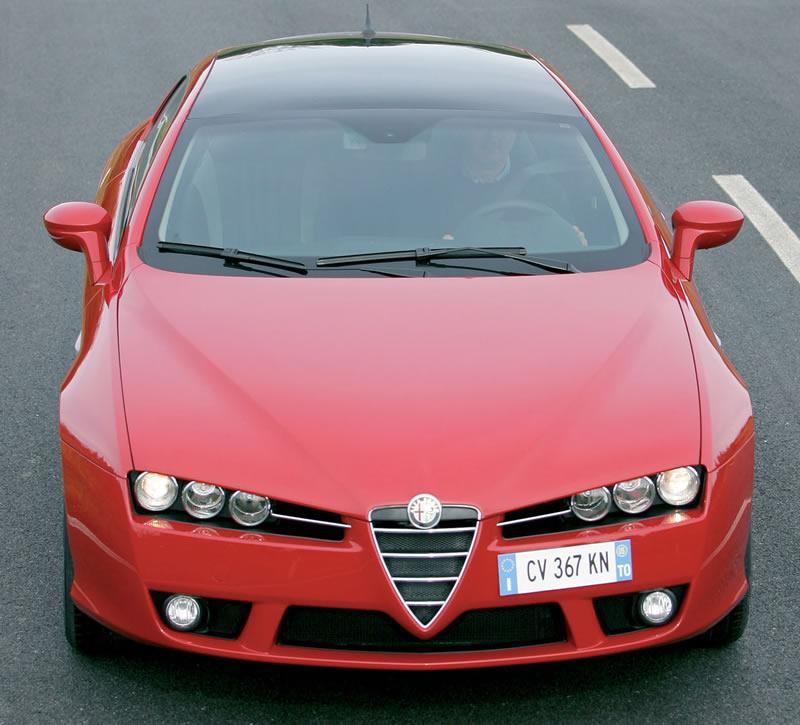 Alfa Brera - Front