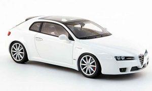 Alfa Romeo Brera 1/43 Minichamps white edizione 2008