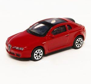 Bburago 30192 Alfa Romeo Brera 2005 1:43 - czerwony