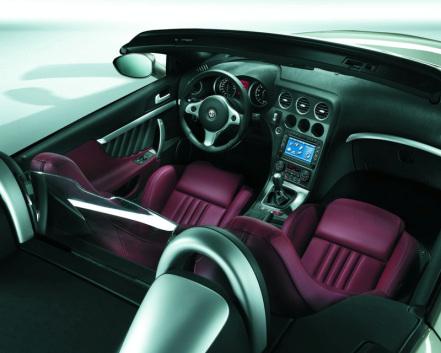 Alfa Spider - Inside