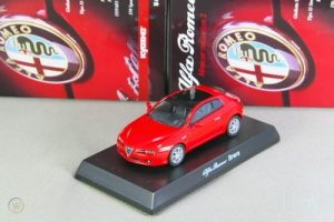 Kyosho 1/64 Alfa Romeo Brera Red Miniature Car Collection 2 Japan 2008