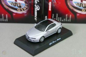 Kyosho 1/64 Alfa Romeo Brera Silver Miniature Car Collection 2 Japan 2008